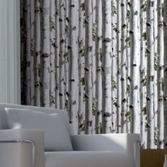 What a way to bring the outdoors in with this amazing new wallpaper. Easy breezy!