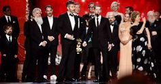 Game of Thrones wins the Emmy for Outstanding Drama Series for the second year in a row! So deserved!
