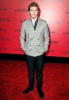 Sam Claflin | Hunger Games: Catching Fire Premiere