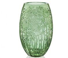Lalique Bucolique Vase. Green Crystal. Lalique Vaso Bucolique. Cristallo Verde. #lalique,#laliquecrystal,#laliquevase