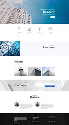 Browse over Bootstrap themes and templates including UI kits, themes with Page Builder, and responsive layouts for single and multipage sites. Corporate Website Design, Business Web Design, Website Design Layout, Web Layout, Website Design Inspiration, Layout Design, Graphisches Design, Page Design, Maquette Site Web