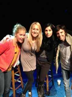 Amy Schumer, Nikki Glaser, Sarah Silverman and Tig Notaro