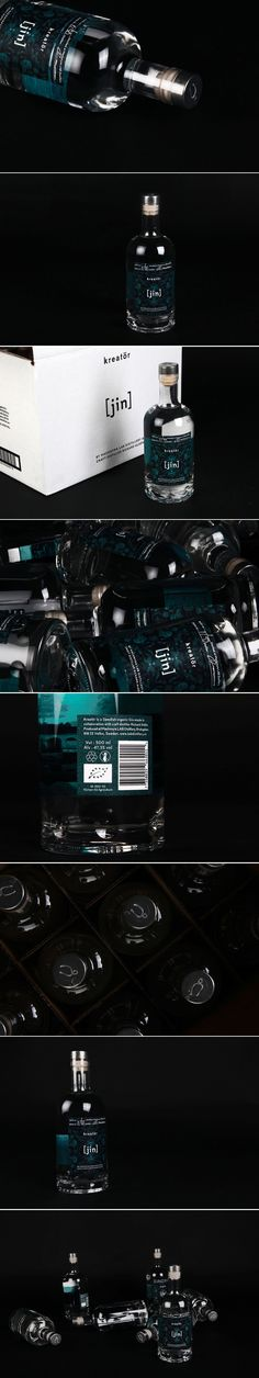 This Swedish Gin is Mysterious and Intriguing — The Dieline | Packaging & Branding Design & Innovation News