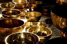 Punch Bowls, Candle Holders, Candles, Himalayan, Nepal, Singing, Shops, Travel, Art