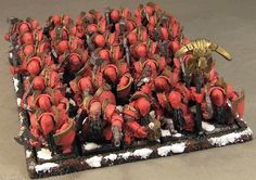 Forge World Chaos Dwarf army