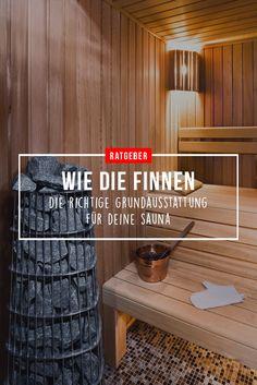 Bad Ratgeber. Saunieren Wie Die Finnen. Die Richtige Grundausstattung Für  Deine Sauna.