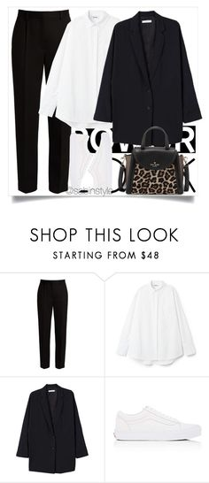 """Untitled #2369"" by sabina-127 ❤ liked on Polyvore featuring The Row, MANGO, Vans and Kate Spade"