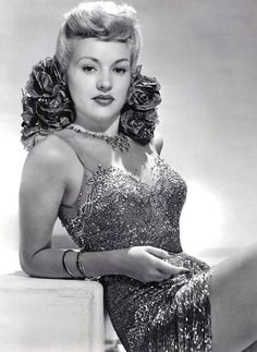 "Betty Grable - (Elizabeth Ruth ""Betty"" Grable (December 18, 1916 – July 2, 1973) was an American actress)"