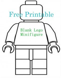 Lego Universe design your own minifigure