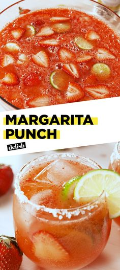 Your Next Party Needs This Easy Margarita PunchDelish