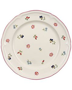 "Villeroy and Boch ""Petite Fleur"" 10.5in Dinner Plate"