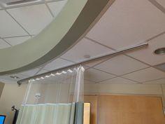 hospital curtains curtain track