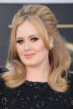 The Hottest Long Hairstyles & Haircuts For 2014 - Adele
