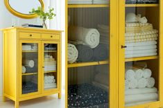 Why not have some very bright yellow furniture..