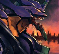 Evangelion 01 by evazhou.deviantart.com