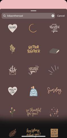 Instagram Emoji, Instagram And Snapchat, Instagram Blog, Creative Instagram Photo Ideas, Instagram Story Ideas, Instagram Editing Apps, Insta Story, Photos, Sticker