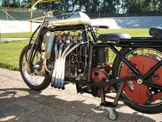 "Four Cylinder Motorcycles | Opel - Steher 4 cylinder ""pusher"" motorcycle 