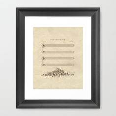 The Sound of Silence Framed Art Print by John Tibbott - $35.00