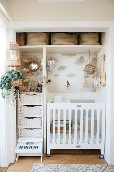 This Woman Made Her Closet a Tiny Room For Her Baby, and it's Gorgeous