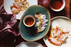 It spans sashimi to miso, unctuous curries and bite-sized meatballs. It's the go to cuisine for umami and zingy yuzu, and we love nothing more than easy, healthy sushi. Click through the gallery for our top 55 healthy Japanese recipes right. Healthy Japanese Recipes, Japanese Food, Asian Recipes, Ethnic Recipes, Japanese Desserts, Sushi Recipes, Chinese Food, Japanese Party, Japanese Dinner