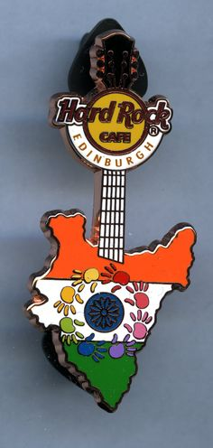 Edinburgh - Hard Rock Cafe Guitar Pin