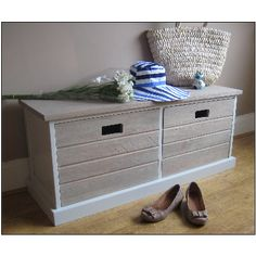 Tetbury Bench Two Drawer pine Storage Bench - Tetbury Bench Two Drawer pine Storage Bench - Furniture Bench With Drawers, Large Drawers, Hallway Storage Bench, Drawer Storage, Pine, Entrance, Coastal, Stairs, Google Search