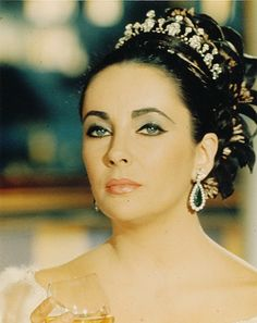 Elizabeth Taylor/with no lip fillers, cheek implants still the most beautiful woman in the world.