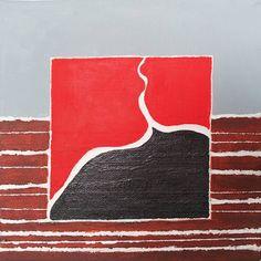 Antonella Canu, Fire, acrilico su tela, cm 20x20, 2013