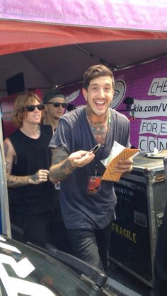 Austin Carlile and Alan Ashby