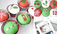 Online Class Guide - Christmas Sparkle Cupcakes | Blue Door Bakery