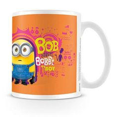 8e8b1782094 Minion Bob Bobby My Boy Minions Mug Minions Bob, Despicable Me, Mug Cup,