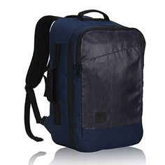 Hynes Eagle 28L Aurora Convertible 19x12x7.5 Flight Approved Carry On Travel Backpack Navy - Travel Carry-On Backpack, Saving Money, Saving Time With the dimensions of 48*30*19cm, the Hynes Eagle Aurora Carry-on Travel Backpack is within the maximum luggage size allowance of most airlines, especially for many budget airlines. You can carry it on when take a plane. It does have the abilit...