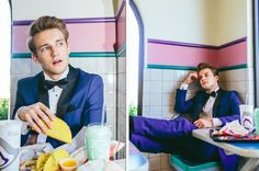 A Guy Took His Senior Portraits In A Taco Bell, And They're Truly Beautiful