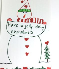 Have a Holly Jolly Christmas Christmas Card by LilyMoonsigns