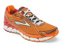 70b7025d40b Brooks Adrenaline GTS 15 Road Running Shoe - Men s - D Width Size Color  Satsuma RibbonRed Black