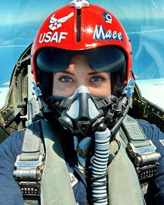 Major Michelle Curran is the only female fighter jet pilot among those participating in today's air show, which features the Thunderbirds and the Blue Angels. They are flying today to show solidarity with first responders. Jet Fighter Pilot, Fighter Jets, New York City, F 16 Falcon, Female Pilot, Female Fighter, Military Women, Air Show, Military Aircraft