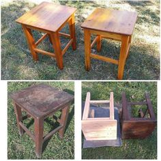 Once upon a time I had plenty of time and deep deep deep depression. I found then these tabourets my gradfather had made in 1964 and 1965 and restored them. it took me 4 days to remove manually an old paint from one tabouret; two more left to be restored. can't wait to find a home for all of them one day and to sew covers which would match to the interior. #furniture #furniturerestoration #furnitureredo #handmade #handmadefurniture #naturalwood #wood #woodenfurniture #antiquefurniture by…
