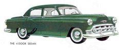 1953 Chevrolet 150 Four-Door Sedan