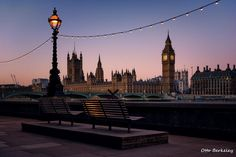 Bench With A View - London City {by Otto Berkeley} Tours Of England, England Uk, London England, English Adventure, Francia Paris, Houses Of Parliament, London Photos, London Calling, London City