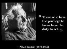 My respect for Albert Einstein grows all the time.