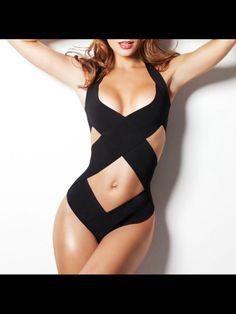 Bandage bathing suit