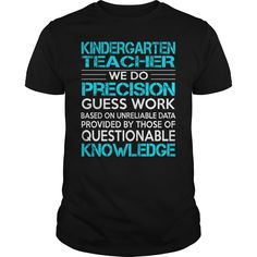 Awesome Tee For Kindergarten Teacher T-Shirts, Hoodies. CHECK PRICE ==►…