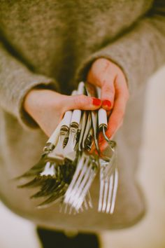 Holding key wares they would like to highlight  At the Kinfolk Table. Photography by 88forever.nl