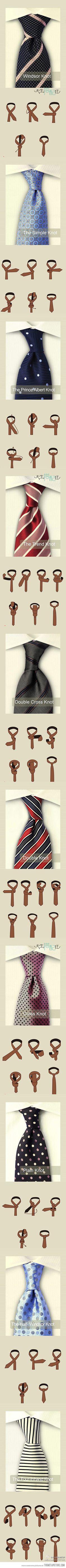 Ways To Tie a Tie