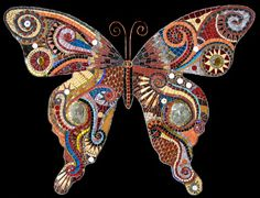 My favorite mosaic butterfly...