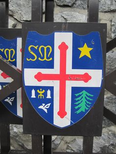 City Coat of Arms - Bourg St. Maurice -   French Alps