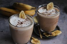How To Stay Healthy, Smoothies, Panna Cotta, Pudding, Banana, Ethnic Recipes, Desserts, Drinks, Food