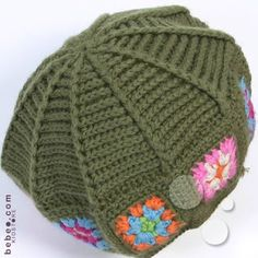 scroll down on page. A sight pattern.  ...could use a heart granny all around and use DK wt  yarn. i like this pattern.