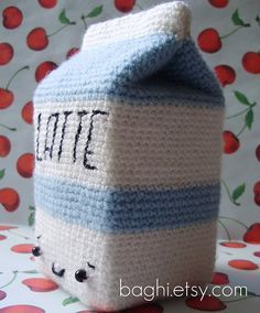 milk amigurumi pattern - Google Search