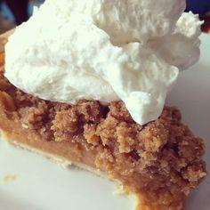 Pumpkin pie = Happy Thanksgiving! #yyc #yycfood #food #pie #delicious